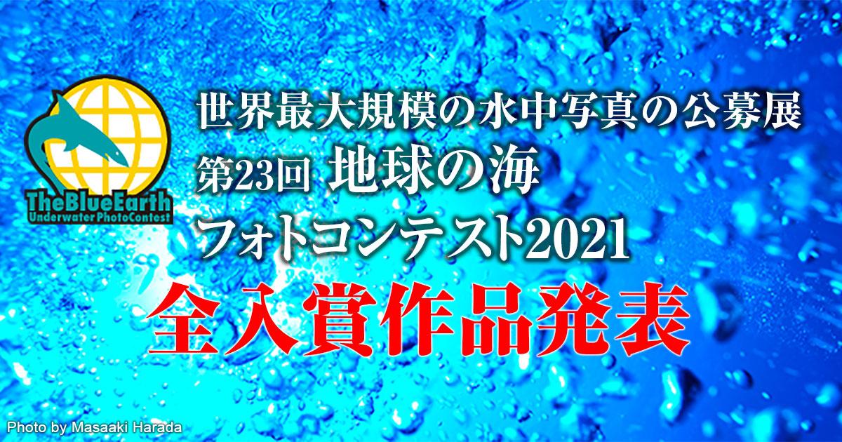 地球の海フォトコンテスト2021全入賞作品