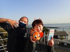 広田千帆さん(右)