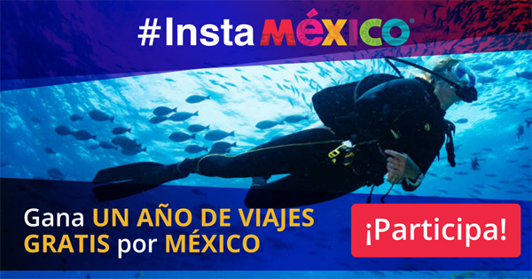 優勝者にはメキシコ国内旅行!? #InstaMéxicoコンテスト